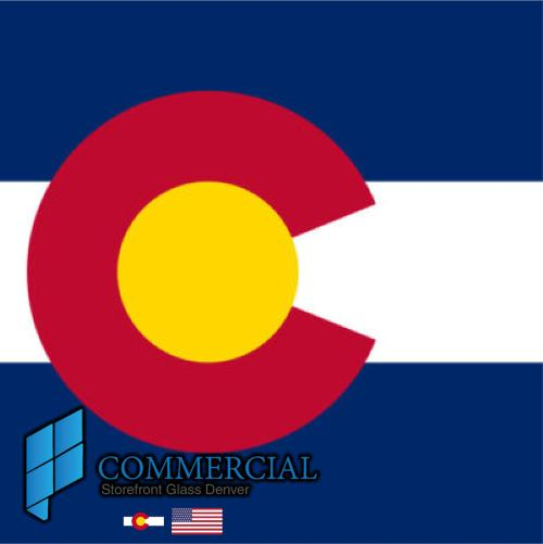 commercial storefront glass denver window door replacement 44