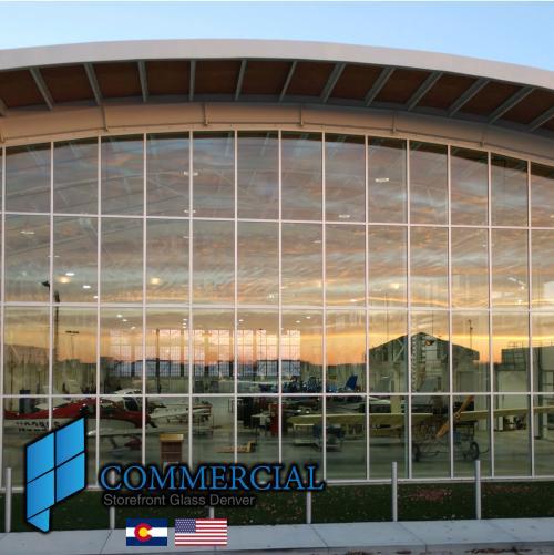 commercial storefront glass denver window door replacement 87