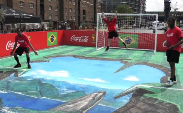 Amazing 3D Art | Coca-Cola Commercial Song
