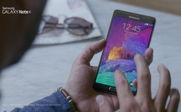 Screen | Samsung Galaxy Note 4 Commercial Song