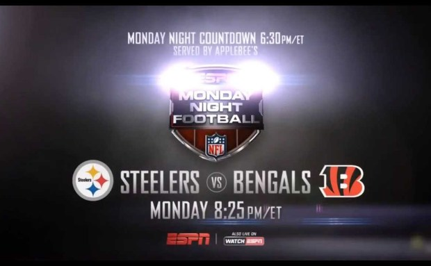 Steelers vs Bengals | 2013 Monday Night Football Commercial Song