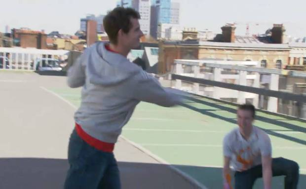 Tennis Street Magic in London | Head Tennis Andy Murray Commercial Song
