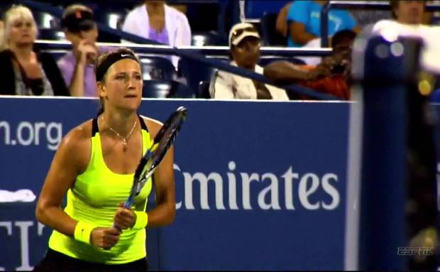 US Open Azarenka-Stosur Commercial Song