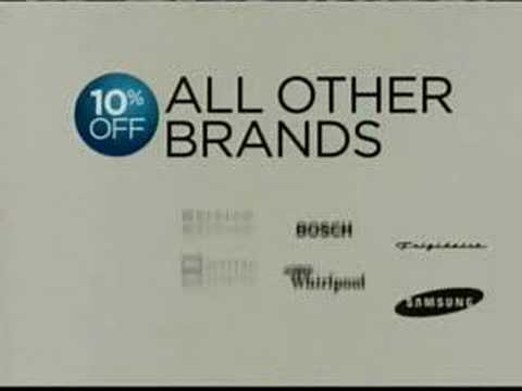 Woohoo | Sears Appliances Commercial Song