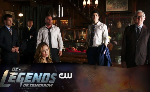 The CW DC Legend's of Tomorrow Teaser Song