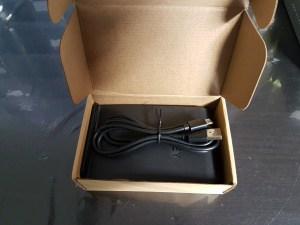 boite ouverte chargeur aukey sans fil