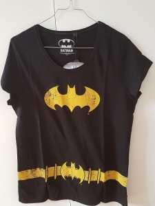 tee shirt batgirl cintre