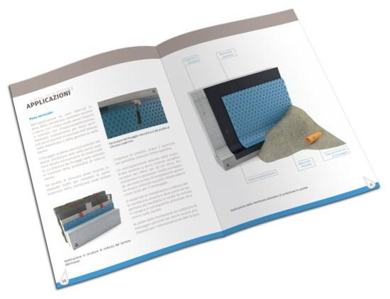 brochure pagine aperte