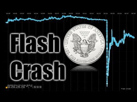 Image result for rigged markets, silver crash flash