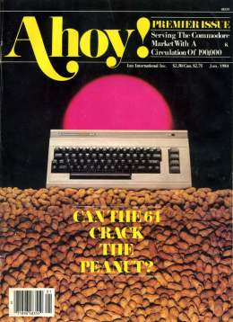 Ahoy! Issue 1 - January 1984 - Commodore Vic 20 & C64