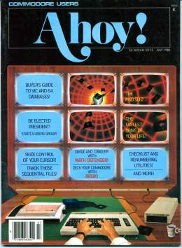 Ahoy! Issue 7 - July 1984 - Buyers Guide -Commodore Vic 20 & C64
