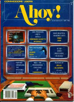 Ahoy! Issue 9 - September 1984 - Video RAM - Commodore Vic 20 & C64