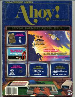 Ahoy! Issue 24 - December 1985 - Hardware - Commodore Vic 20 & C64