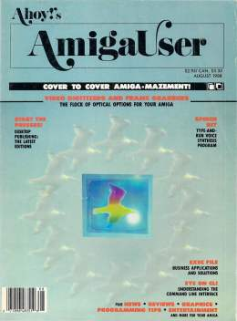 Ahoy! Amiga User 56 - August 1988 - Amiga User Tips and Tricks Amiga