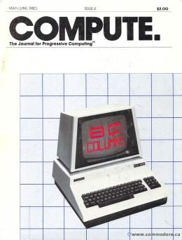 Compute! Magazine Issue #4 - May June 1980
