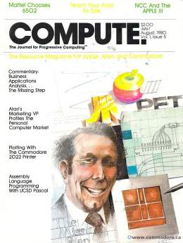 Compute! Magazine Issue #5 - July August 1980