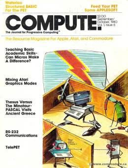 Compute! Magazine Issue #6 - September October 1980