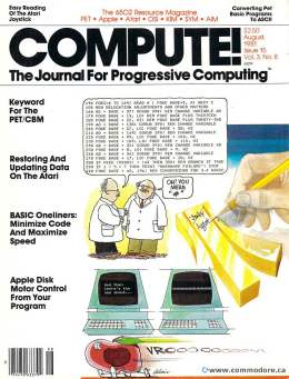Compute! Magazine Issue #15 - August 1981