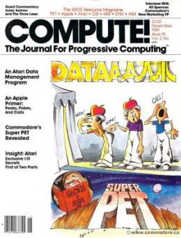 Compute! Magazine Issue #18 - November1981