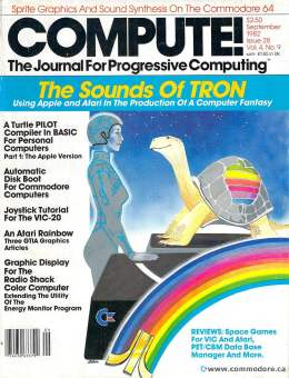 Compute! Magazine Issue #28 - September 1982