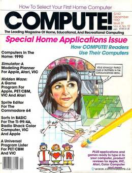 Compute! Magazine Issue #31 - December 1982