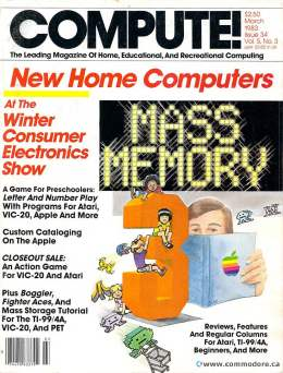 Compute! Magazine Issue #34 - March 1983