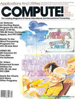 Compute! Magazine Issue #35 - April 1983