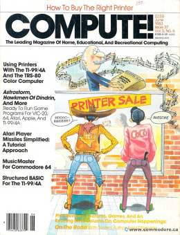 Compute! Magazine Issue #37 - June 1983