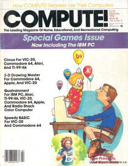 Compute! Magazine Issue #45 - February 1984 Vic-20 Commodore, TI 99