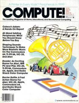 Compute! Magazine Issue #46 - March 1984 - Coleco Adam