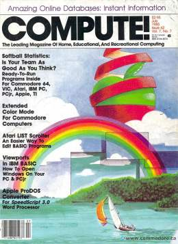 Compute! Magazine Issue #62 - July 1985