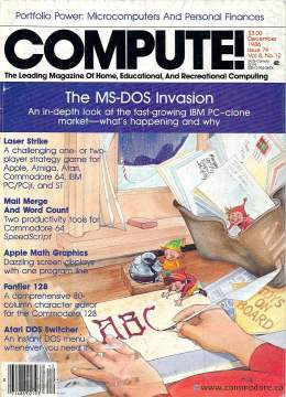 Compute! Magazine Issue #79 - December 1986
