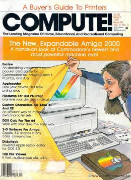 Compute! Magazine Issue #82 - March 1987