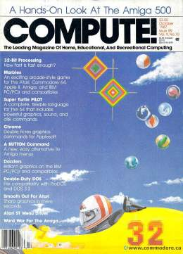 Compute! Magazine Issue #88 - October1987