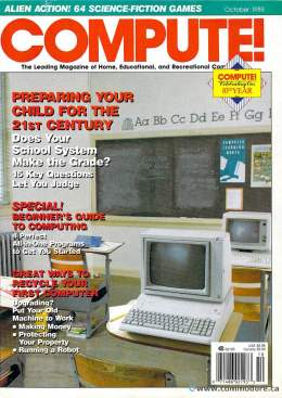 Compute! Magazine Issue #101 - October 1988 - IBM PC - Apple IIgs - Commodore - C64 - Amiga - Atari ST - Radio Shack -  Home Computing - PET - CBM - MAC