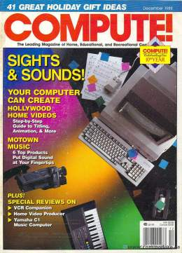 Compute! Magazine Issue #103 - December 1988 - Commodore 128 - 64 - IBM PC - Apple II - Amiga - Atari ST - Radio Shack - CBM - Mac II - Sound