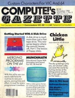 Compute Gazette - Issue 5 - November 1983 - Disk Drive - Merging Programs on the 64  - Commodore VIC-20 64