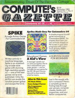 Compute Gazette - Issue 6 - December 1983 - Commodore VIC-20 64