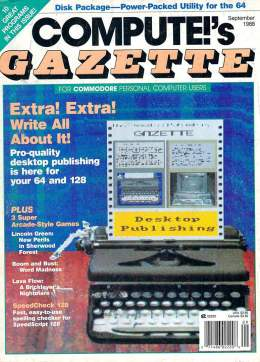 Compute Gazette - Issue 63 - September 1988 - Desktop Publishing Commodore VIC-20 64 128 Amiga