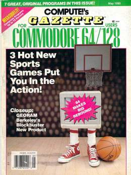 Compute Gazette - Issue 83 - May 1990 - Sports Games - Commodore  64 128