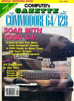 Compute Gazette - Issue 84 - June 1990 - Computer Shows - User Groups - Commodore  64 128
