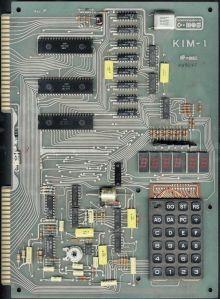 Commodore KIM1 - Rev F