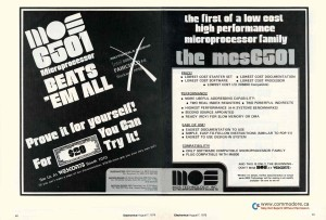 MOS_6501_Advertisement_August_1975