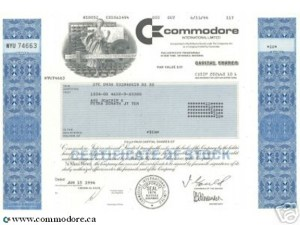 commodore-share-certificate