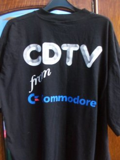 COMMODORE CDTV T SHIRT