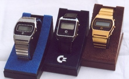 THREE COMMODORE DIGITAL WATCHES WITH RETAIL PACKAGING: I understand that Commodore bought some percentage ownership in an Asian watch manufacturer in the early 1980's, and as such were actually sold as a product line. I lived a few hours outside of Toronto and was very Commodore aware during the early 1980's but do not recall ever seeing Commodore Digital Watches in stores.
