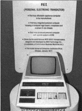 Late 1970s personal computer with integrated mini-keyboard and video display
