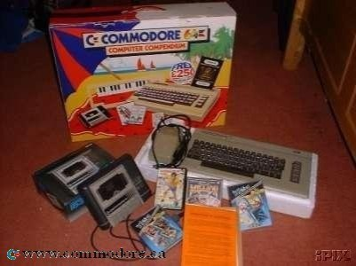 COMMODORE 64 COMPENDIUM: Released in the UK as a C64 complete bundle.