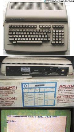 COMMODORE PET 510: Also very rare PET using MOS 6509 CPU, 6581 SID and 128K RAM. The 510's used the VIC-II 40 column Hi-Resolution colour graphics video chip.