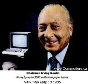 Irving Gould - Commodores Financier